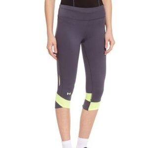 Under Armour Fly-By Compression Capri Pants Grey